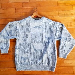 Vintage Arnold Palmer Golfer Knit Dadcore Pullover Size Large